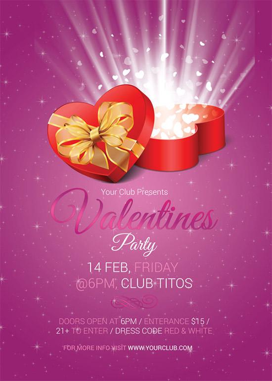 20 Best Valentines Day Invitation Templates Sample Templates