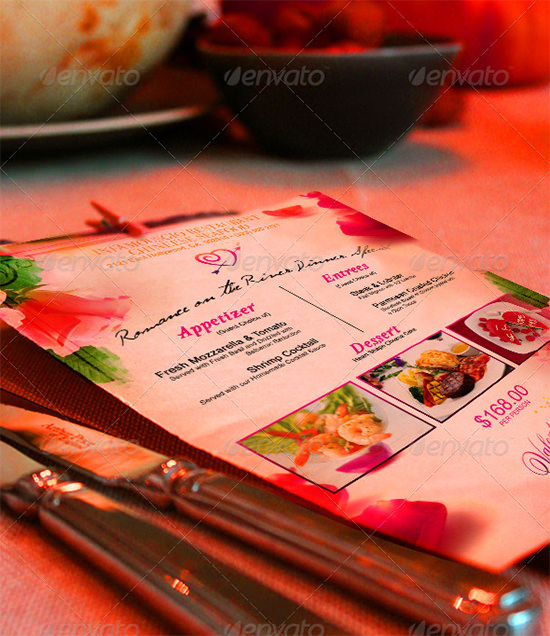 15+ Best Valentines Day Menu Templates | Sample Templates