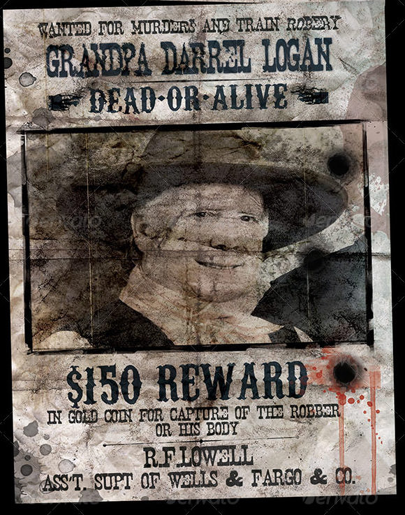 Wanted Poster Template 19 Download Documents in PSD PDF Doc – Missing Reward Poster Template