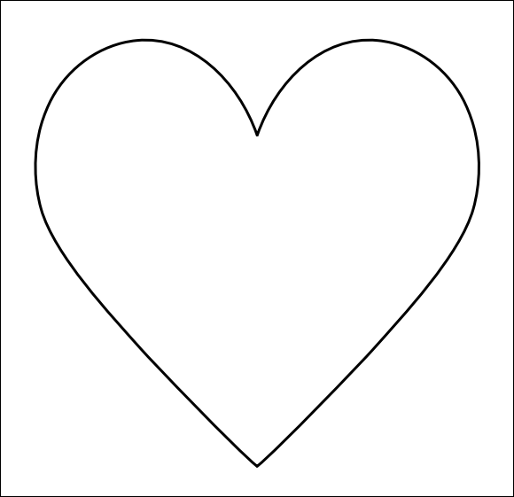 ... win many a heart get ready to print large heart templates right here