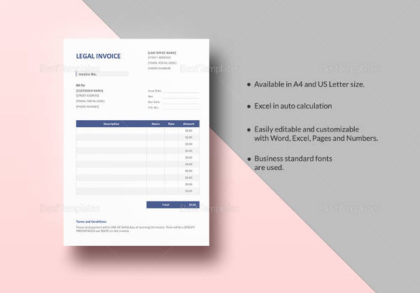 110  invoice templates to free download