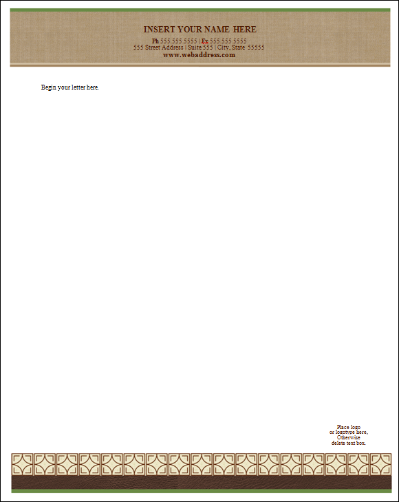 10+ Letterhead Template - Download Free Documents in PDF ...