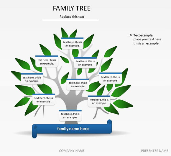 family tree template .