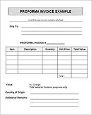 proforma invoice format2