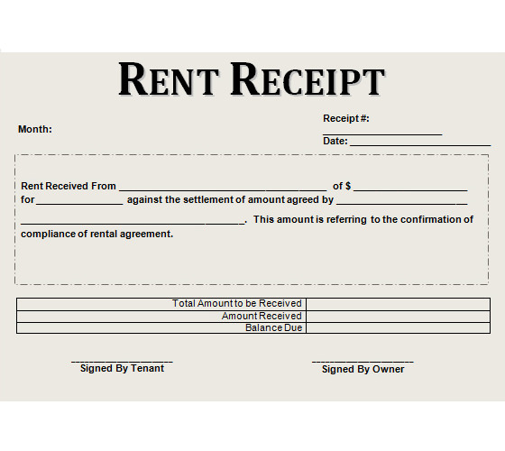 Rent Receipt Template 1 Rent Receipt Template 2 Payment Receipt Form uTnhK4ki