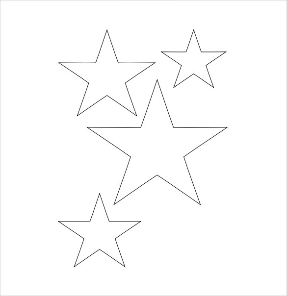 Star Template   Download Documents In Pdf Psd Vector Eps