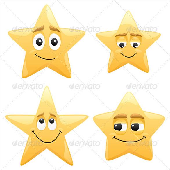 psd format star template