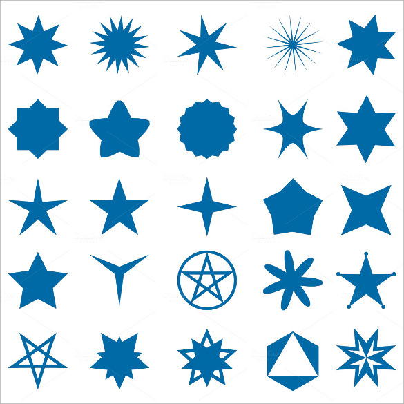 image about 50 Star Stencil Printable known as Cost-free 17+ Simplest Printable Star Templates in just PDF PSD Vector