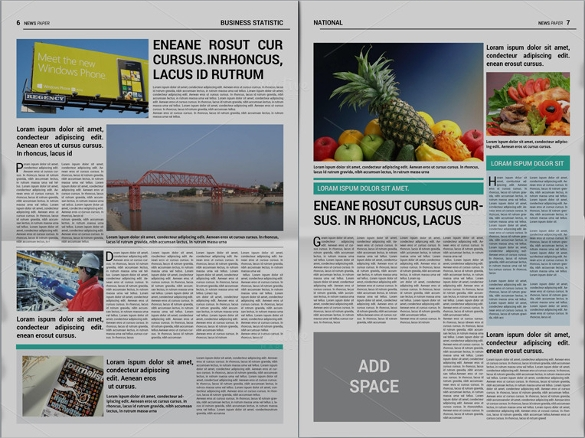 creative newspaper template1
