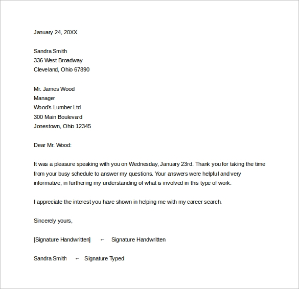 sle thank you letter after phone 12 free