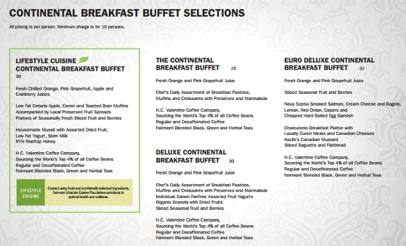 free banquet menu pdf template download
