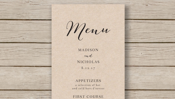 16 Banquet Menu Templates Psd Docs Pages Ai