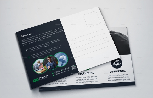 Attractive Post Card Template