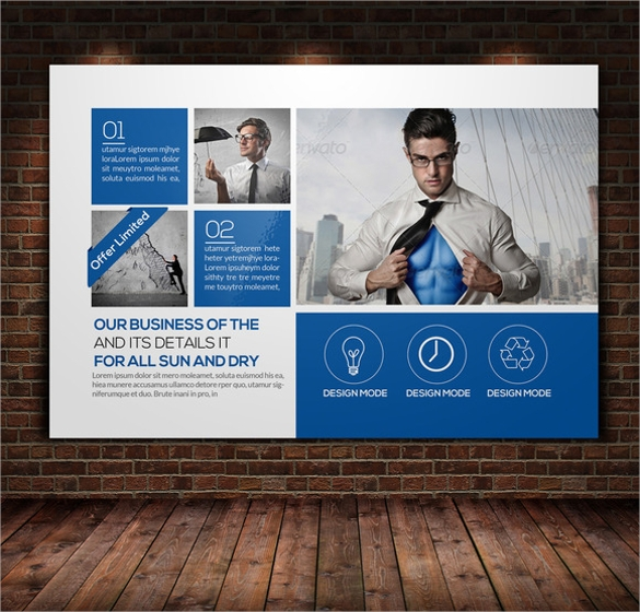 Sample Business Post Card Template