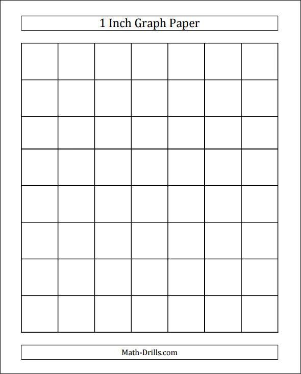 Inch Graph Paper - FREE DOWNLOAD - Champlain College