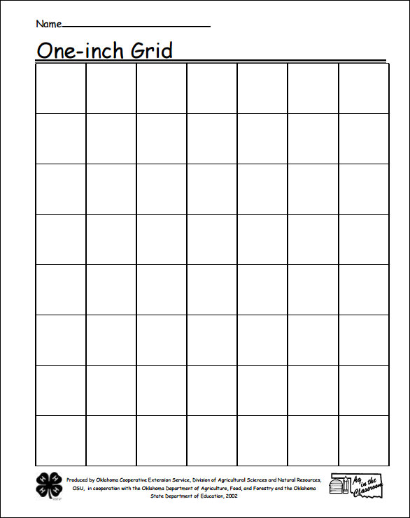 Sample 1 Inch Graph Paper - 9+ Free Documents in PDF