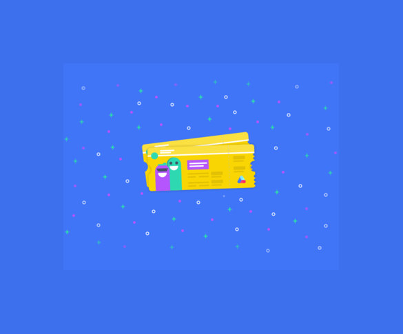 awesome coupon design template