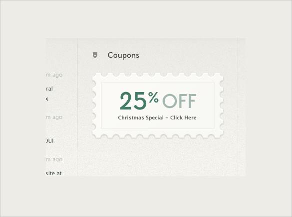 best coupon design template
