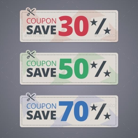 fantastic coupon design template