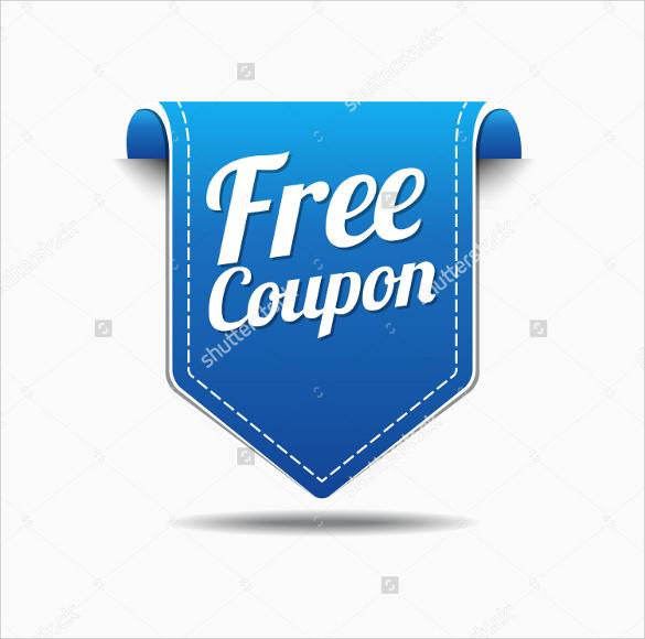 spectacular coupon design template