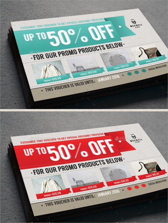 Sample Coupon Template 27 Documents in PSD Vector – Voucher Design Template Free