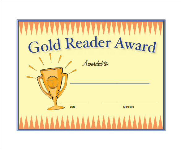 remarkable award certificate template