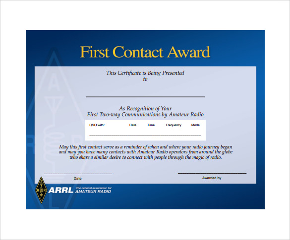 48 Printable Award Certificate Templates Word Psd Ai