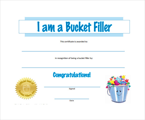 sample award certificates