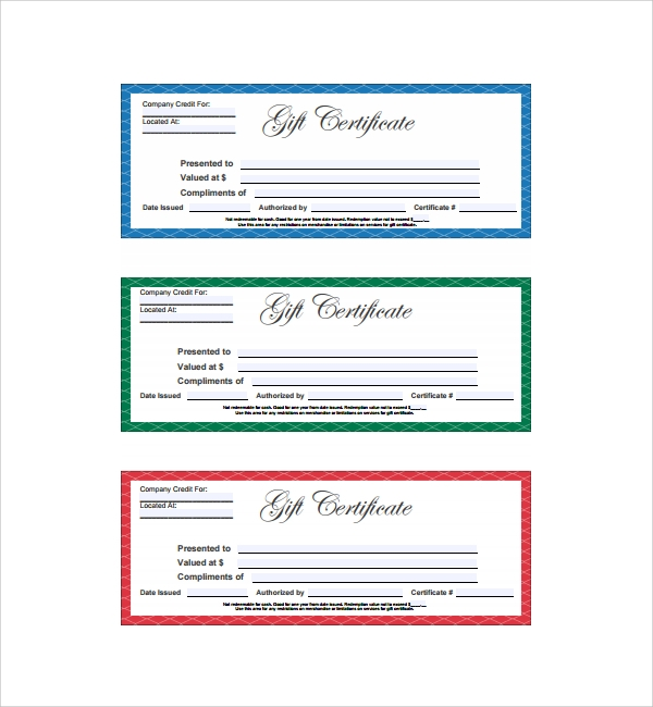 sample gift certificate template 56 documents download
