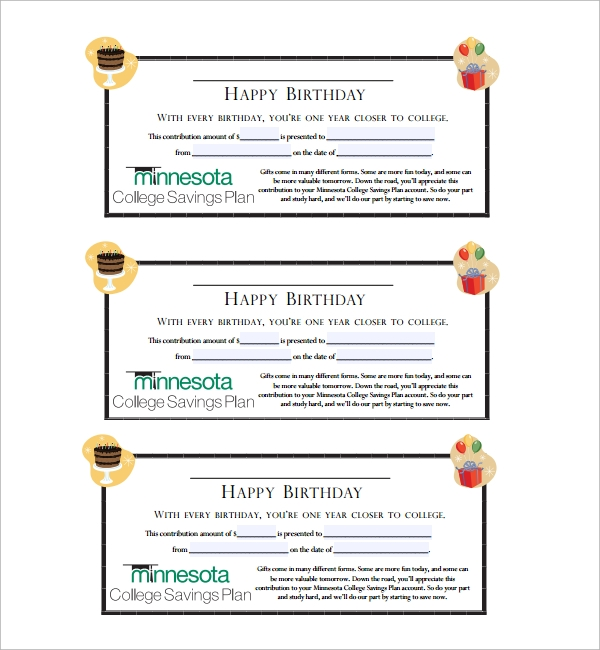Sample Gift Certificate Template - 39+ Documents Download In Pdf