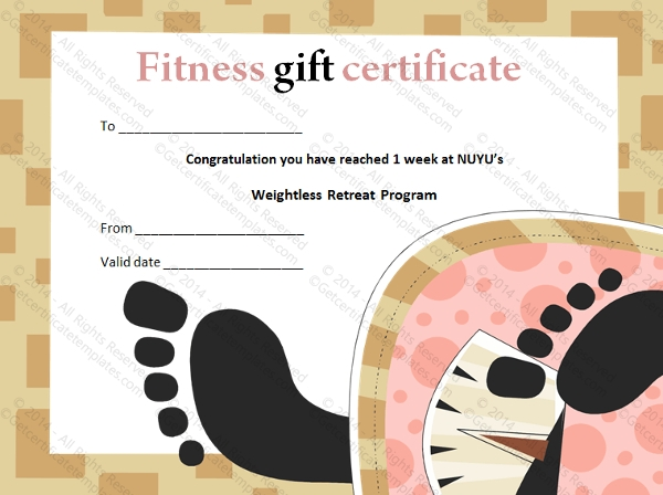 Sample Gift Certificate Template 48 Documents Download in PDF