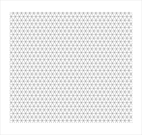 Shocking image pertaining to printable isometric graph paper
