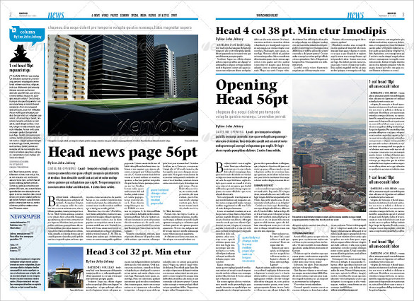 best newspaper template muco tadkanews co