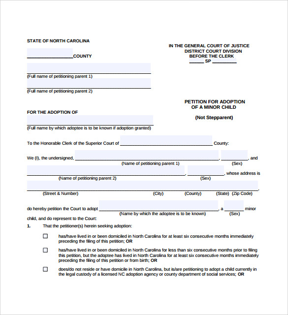 downloadable petition template