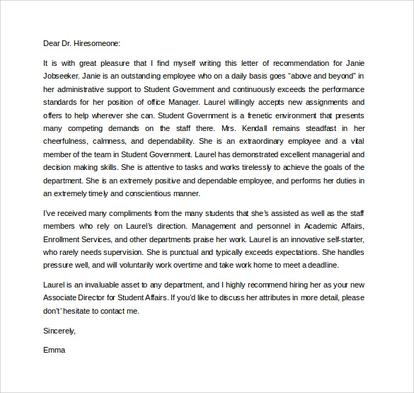 Examples of letter of recommendation for graduate school roho examples of letter of recommendation for graduate school spiritdancerdesigns Gallery