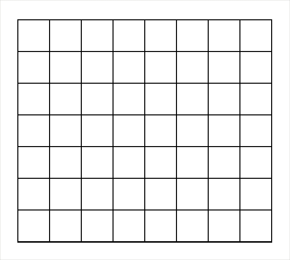 Printable 1 Inch Graph Paper Work Calendar – Print Free Graph Paper No Download