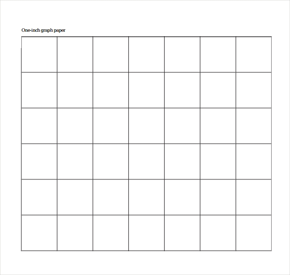 downloadable 1 inch graph paper1