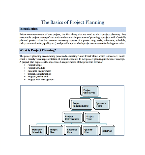 Project Plan Template 12 Download Free Documents in PDF Word – It Project Plan Template