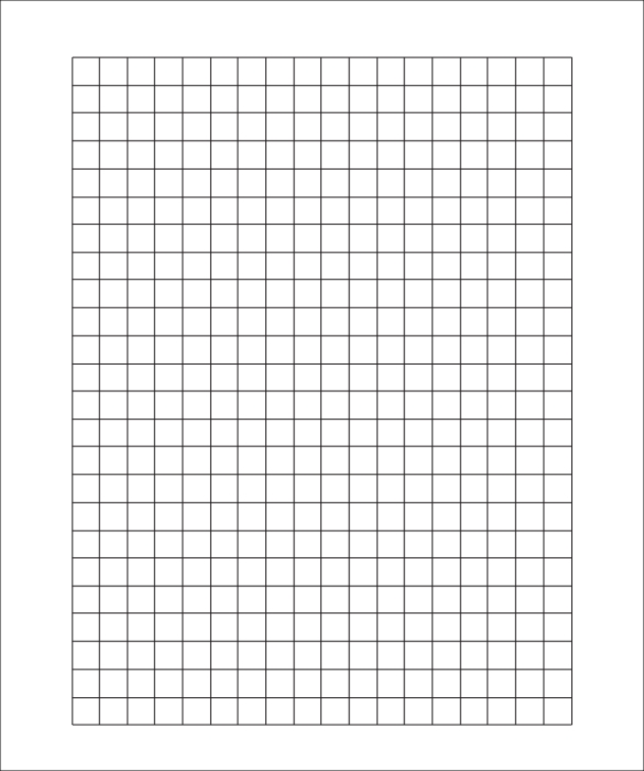 Sample D Graph Paper Template   Free Documents In Pdf