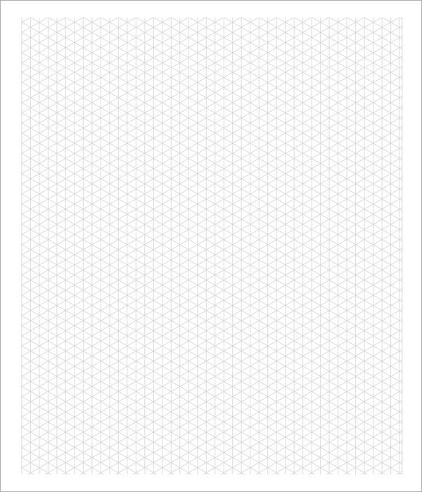 Sample 3D Graph Paper Template 8 Free Documents in PDF – Graph Paper Templates
