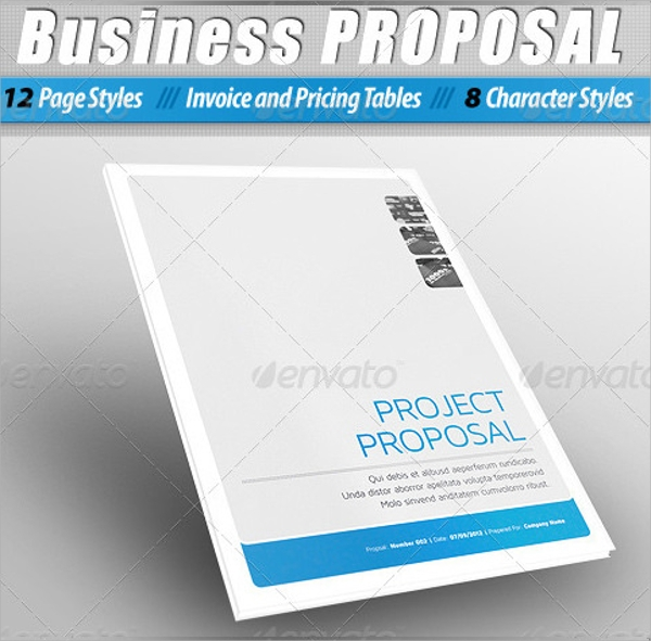 25 free business proposal templates sample templates business plan template wajeb Images