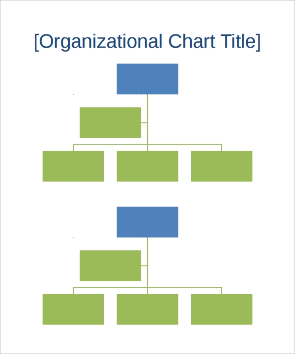 17 sample organizational chart templates pdf word for Free org chart template