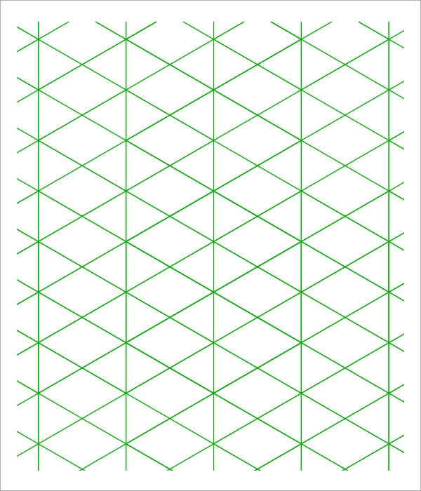 sample 3d graph paper template