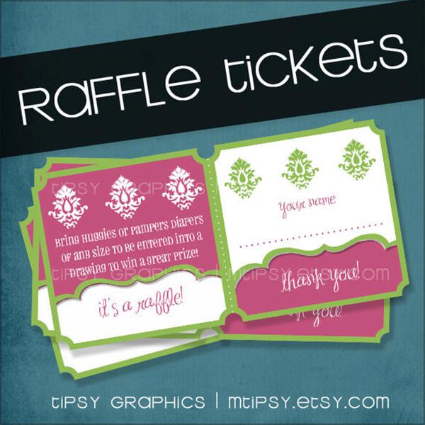 raffle ticket templates sample templates