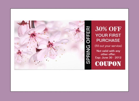 Sample Coupon Template 27 Documents in PSD Vector – Voucher Sample Design