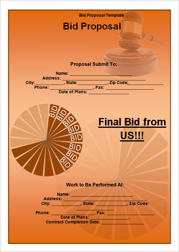 bid proposal template3
