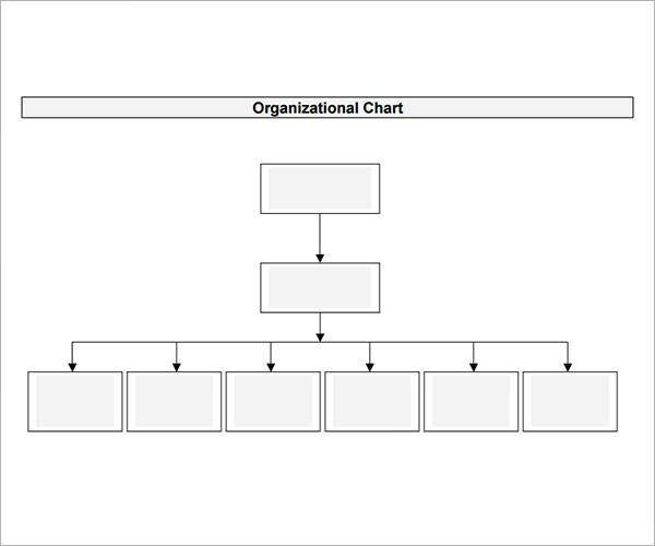 Organizational Chart Template - Download Free Documents in PDF , Word ...