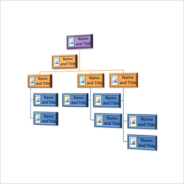 Non-profit Organizational Chart Template