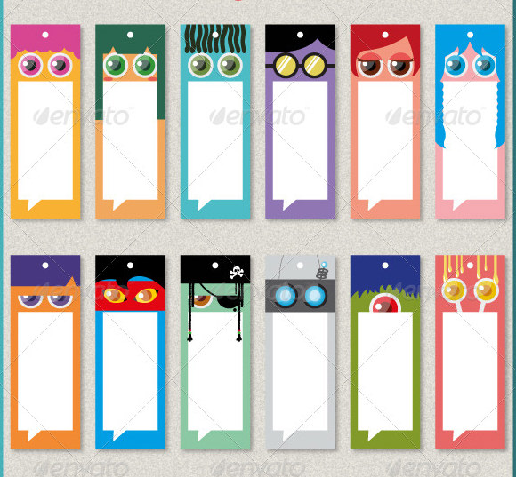 world book day bookmark template - 14 beautiful printable bookmark templates to free download
