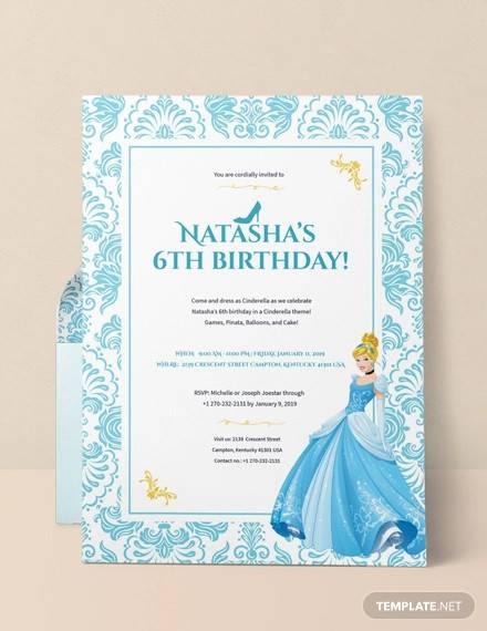 Free 63 Printable Birthday Invitation Templates In Pdf